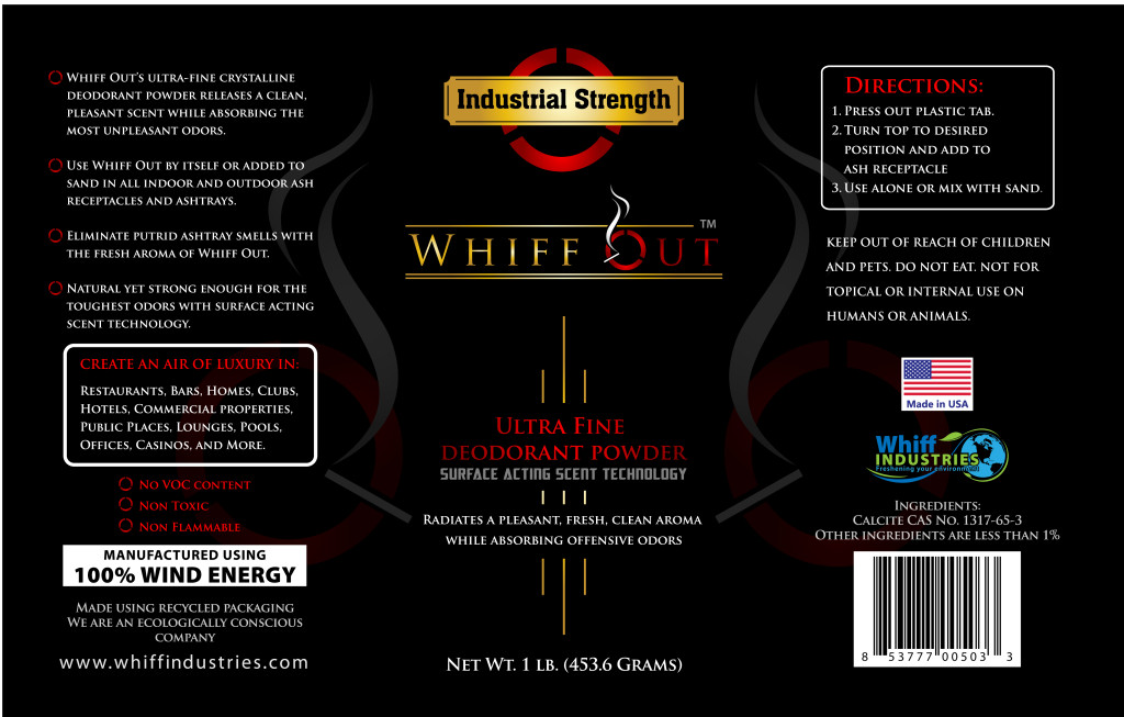 Whiff Out™ Label