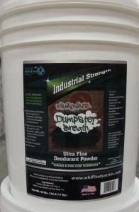 Dumpster Breath™ dumpster deodorizer