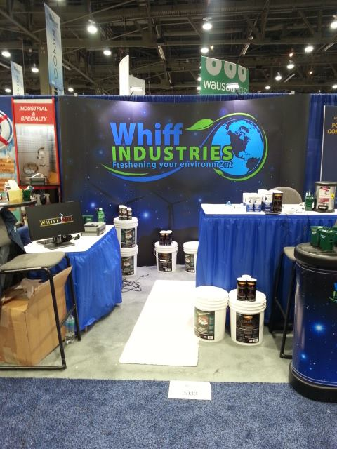 ISSA interclean 2013 Las vegas Booth