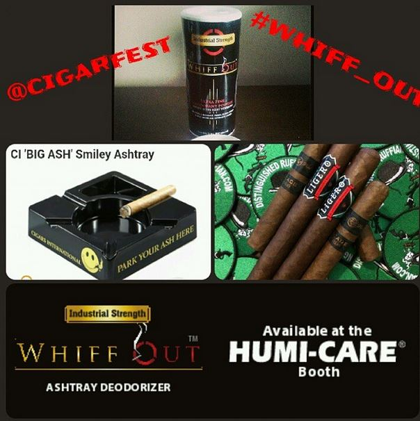 whiff out cigarfest giveaway