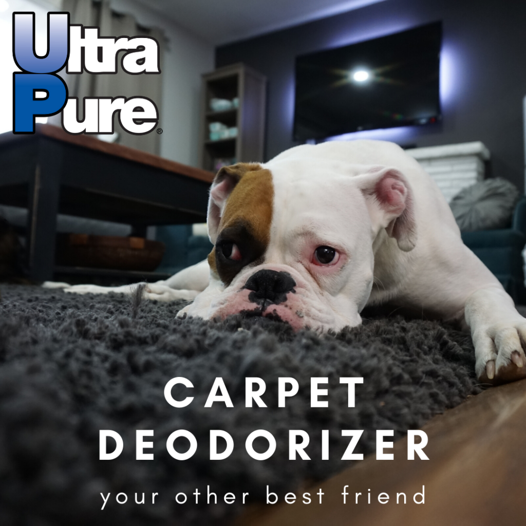 Ultra Pure by Whiff Industries revolutionary carpet and room odor control