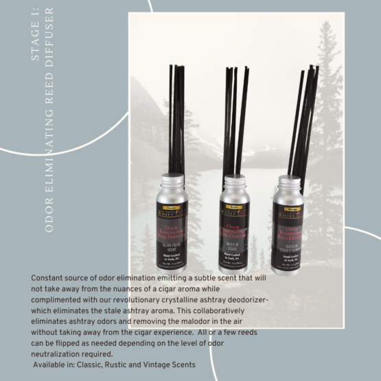 Whiff Out Odor Eliminating Reed Diffusers
