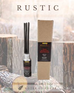Whiff out odor eliminating reed diffuser Rustic scent stage 1