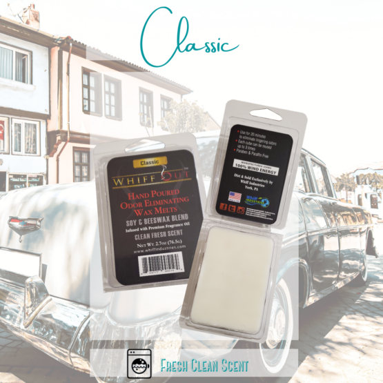 Whiff out odor eliminating wax melt classic scent