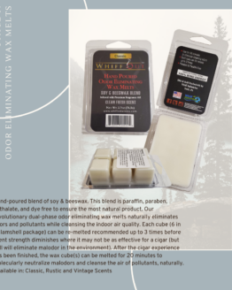 Whiff out odor eliminating wax melt classic scent stage 3
