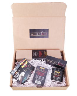 WHIFF OUT TOTAL ODOR NEUTRALIZATION SYSTEM GIFT BUNDLE VINTAGE SCENT