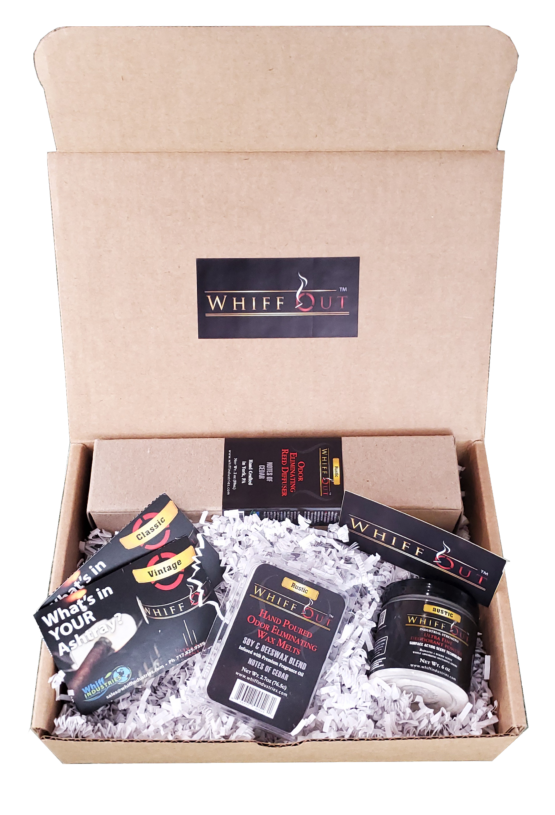 WHIFF OUT TOTAL ODOR NEUTRALIZATION SYSTEM GIFT BUNDLE RUSTIC SCENT